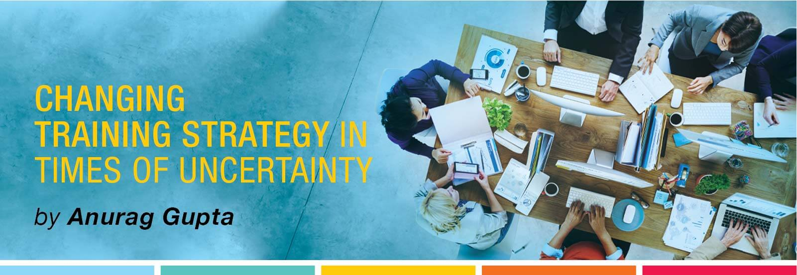 Changing training strategy in times of uncertainty